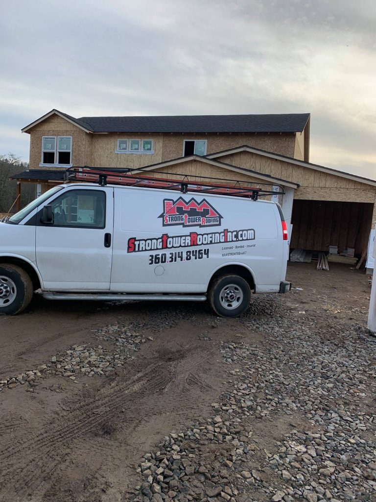 strong tower roofing van commercial